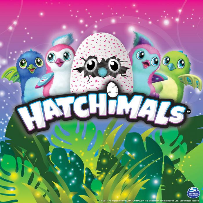 Hatchimals x SpinMaster