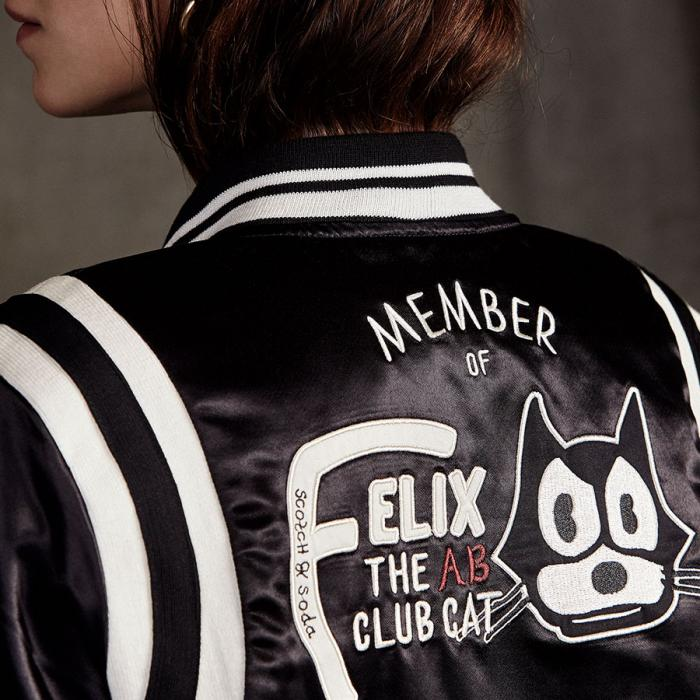 Scotch & Soda x Felix the Cat Collaboration