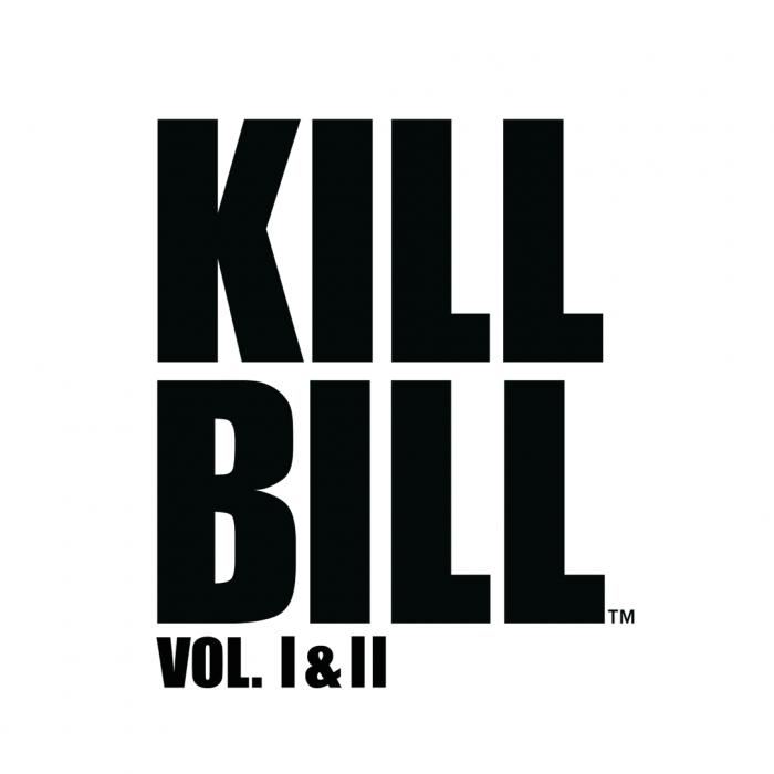 Kill Bill Volume 1 & 2 logo