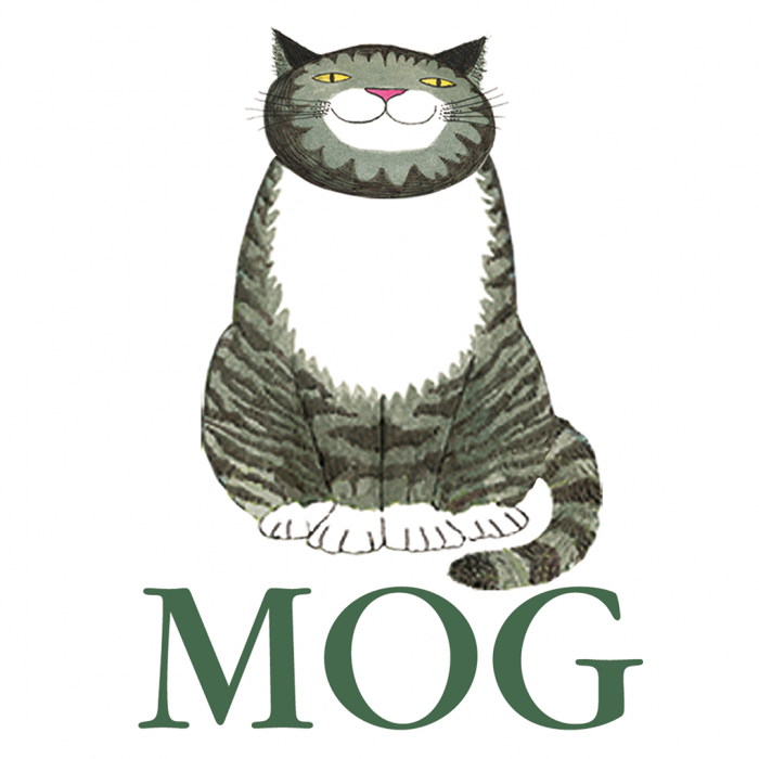 Mog and the forgetful cat logo