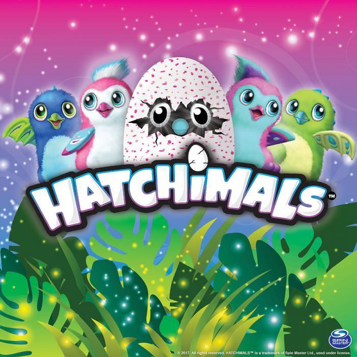 Hatchimals x SpinMaster