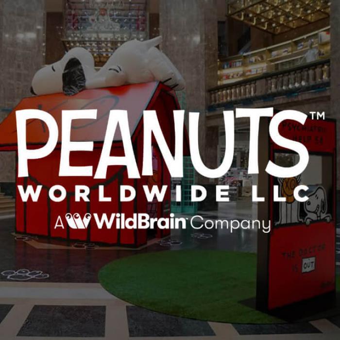Peanuts Worldwide LLC A WildBrain Company logo